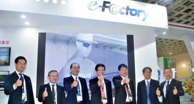 三菱电机完整未来工厂的核心概念「e-F@ctory」