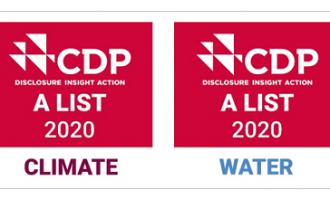"""CDP将三菱电机列入""""气候变化""""和""""水""""领域最高""""A级""""评价"""